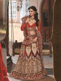 Natasha Couture Party Wear Lehenga Dress Collection 2016 10