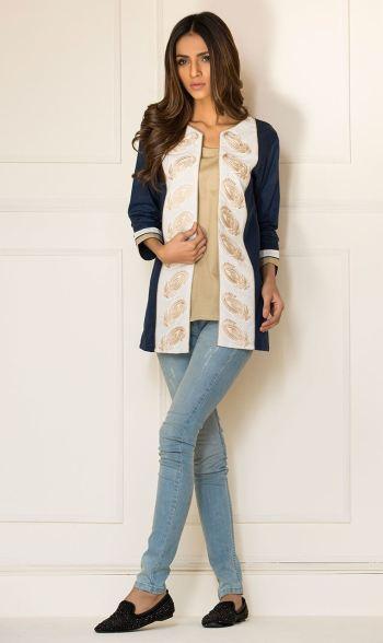 Orient Textiles Spring Kurti Collection 2016 12