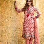 Pure Chiffon Party Wear Dresses ZS Textiles Collection 2016 5