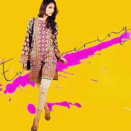 Ready To Wear Silk Tunics Sana Safinaz 2016 2