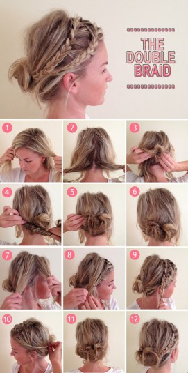Spring Step By Step Hair Tutorials 12
