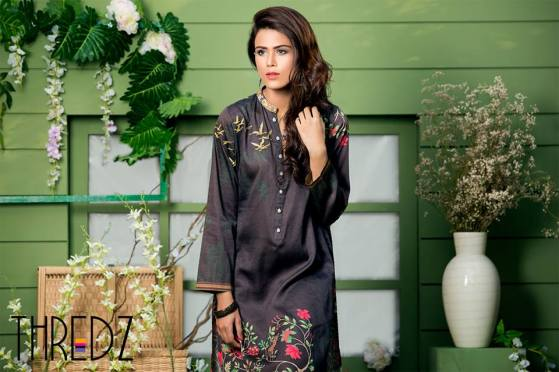 Spring Summer Stitched Tunics Collection Threadz 2016