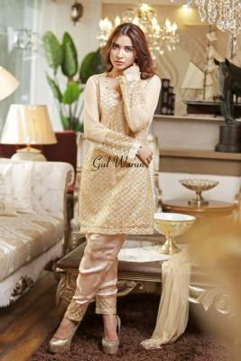 Three Piece Ready To Wear Formal Dresses Gul Warun 2016 6