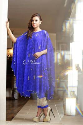 Three Piece Ready To Wear Formal Dresses Gul Warun 2016 7