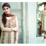 Amna Ismail Semi Stitched Chiffon Spring Collection 2016 16