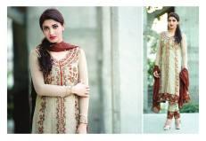 Amna Ismail Semi Stitched Chiffon Spring Collection 2016 16