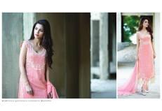 Amna Ismail Semi Stitched Chiffon Spring Collection 2016 5