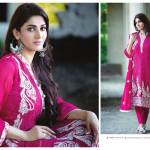 Amna Ismail Semi Stitched Chiffon Spring Collection 2016 6