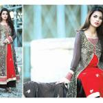 Amna Ismail Semi Stitched Chiffon Spring Collection 2016 7