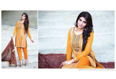 Amna Ismail Semi Stitched Chiffon Spring Collection 2016 8