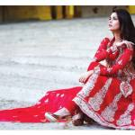 Amna Ismail Semi Stitched Chiffon Spring Collection 2016