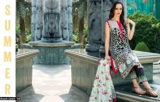 Anum Printed Lawn Dresses Al Zohaib Collection 2016