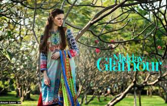 Anum Printed Lawn Dresses Al Zohaib Collection 2016 12
