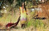Anum Printed Lawn Dresses Al Zohaib Collection 2016 7