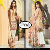 Digital Printed Cotton Silk UnStitched Collection 2016 2