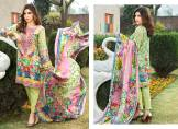 Digital Printed Cotton Silk UnStitched Collection 2016 6