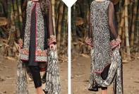 Embroidered Crinkle Chiffon UnStitched Collection 2016