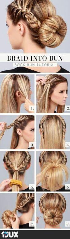Hair Tutorials For Long Hair In Spring & Summer Season 9