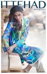 Ittehad Textiles Summer Digital Kurtis Collection 2016 2