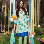 Khaadi Lawn Geometric Fusion Collection
