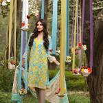Khaadi Lawn Geometric Fusion Summer Collection 2016 7