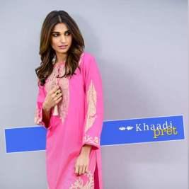 Khaadi Pret Vol-1 Printed spring kurtis