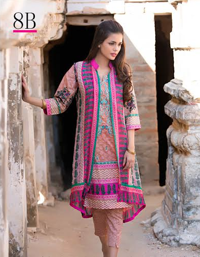 Libas Embroidered Lawn Shariq Textiles Collection 2016 2