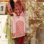 Nishat Linen Formal Wear Silk Dresses 2016 5