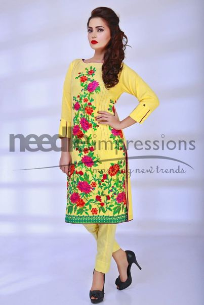 Ready To Wear Embroidered Spring Collection 2016 5
