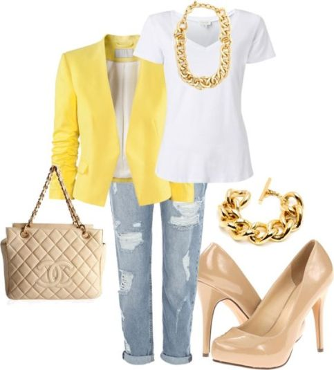 Stylish Spring Polyvore Outfits To Try This Season 5