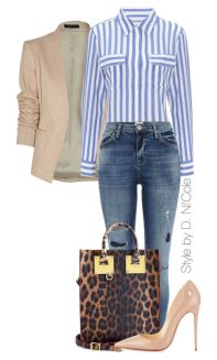 Stylish Spring Polyvore Outfits To Try This Season 6