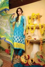 Classic Crinkle Lawn Casual Shalwar kameez Dresses 2016 12