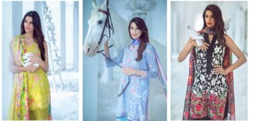 Crimson Lawn Dresses Farah Talib Aziz Collection 2016