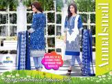 Embroidered Summer Lawn Dresses By Amna Ismail 2016 4