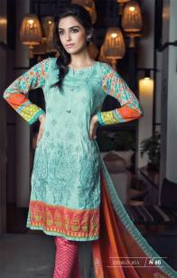 Maria B Summer Lawn Dresses Vol-1 2016 Collection 15