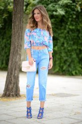 Off The Shoulder Summer Tops Women Casual Wear 7