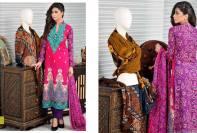 Sawera Embroidered Lawn Shalwar Kameez By Salam Textile 2016
