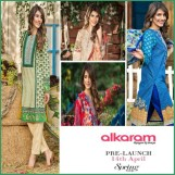 Alkaram Luxurious Lawn Shalwar Kameez Vol-2 2016