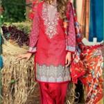 Alkaram Luxurious Lawn Shalwar Kameez Vol-2 2016 3
