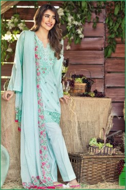 Alkaram Luxurious Lawn Shalwar Kameez Vol-2 2016 5