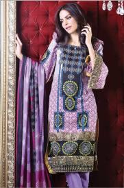 Chiffon Casual Shalwar Kameez Collection By Firdous Fashion 2016 10