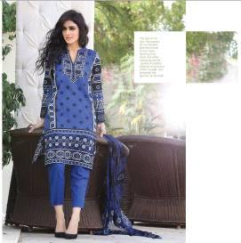 Chiffon Casual Shalwar Kameez Collection By Firdous Fashion 2016 3