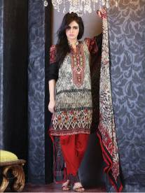 Chiffon Casual Shalwar Kameez Collection By Firdous Fashion 2016 8