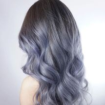 Denim Hair Color Trend To Make You Stylish In Summer
