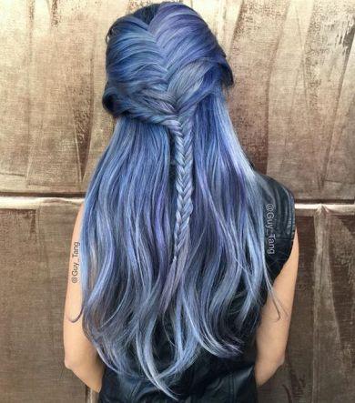 Denim Hair Color
