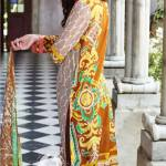 Embroidered Chiffon 3 Pcs Summer Collection 2016 4