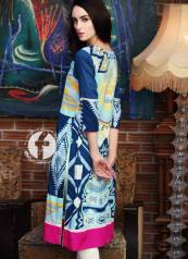 Embroidered Kurti Summer Collection By Firdous Fashion 2016 7