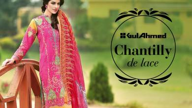 Gul Ahmed Chantilly De Lace Summer Vol 2 2016