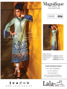 Magnifique Summer Kurti Collection By Lala 2016 6