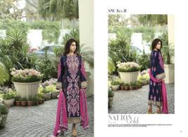 Nation Swiss Lawn Embroidered Summer Dresses 2016 11